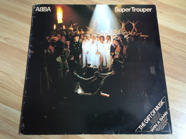 Super Trouper: I'm not too struck with this one. (I think the SAAB competition might be over, by the way.)