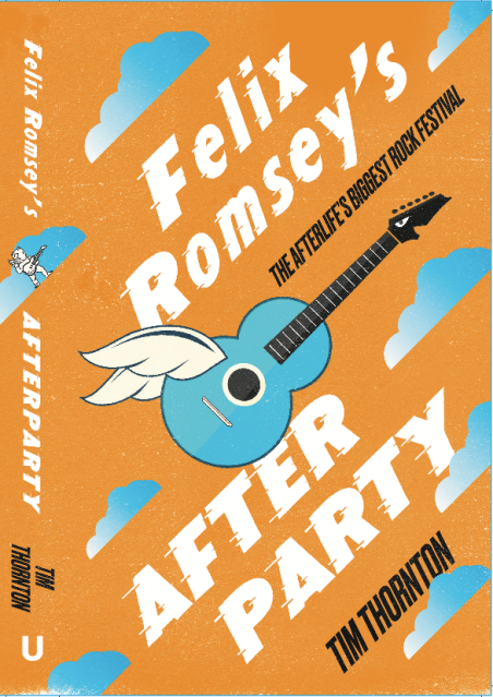 "MY 3RD NOVEL ""FELIX ROMSEY'S AFTERPARTY"""